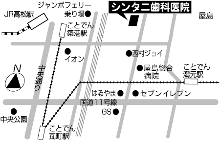 近隣アクセスマップ